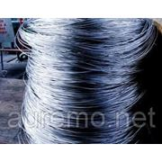 АД1М алюминиевая проволока 8мм, цветной металлопрокат фото