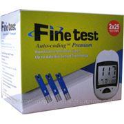 Тест-полоски Finetest Auto-Coding Premium 50 шт (2х25 шт). фото