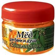 Мёд для бани и душа с Эвкалиптом 125 г фото