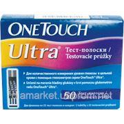 Тест-полоски ВанТач Ультра (OneTouch Ultra) - 50 тест-полосок фото