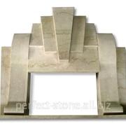 Камин из мрамора Вид 17 фото