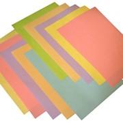 Набор цветной бумаги для множительной техники фото