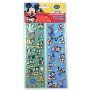 Наклейка Disney Микки Маус 8 листов А фото