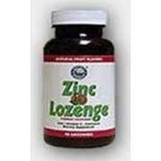 Zinc Lozenge (Пастилки с цинком и витамином С НСП) фото