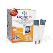 Тест - полоски для глюкометра Contour TS 50 шт. БЕЗКОДОВЫЕ фото