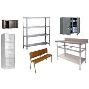 Мебель металлическая для помещений фото