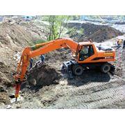 Услуги подряда по землеройным работам Услуги спецтехники в Алматы Малых ИП фото