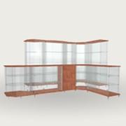 Торговая металлическая и деревянная мебель фото