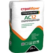Клей Плиточный Гранификс АС12 морозостойкий универсальный для плитки керамогранита 25кг фото