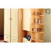 Шкаф со стеллажом фото