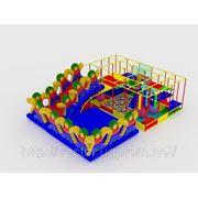 Детский игровой комплекс для помещений. фото