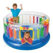 Детский игровой центр батут круглый 48261 Intex фото