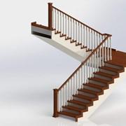 Проектирование и изготовление деревянных лестниц, мебели и интерьеров из массива дерева фото