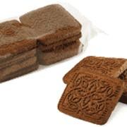 Печенье Юбилейный сувенир -Добрий смак шоколадное фото