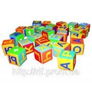 Мягкий игровой набор «Кубики-азбука»