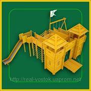 Детский деревянный комплекс «Казачий стан»