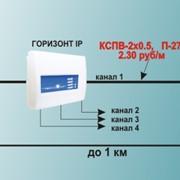 Система видеонаблюдения Горизонт IP фото