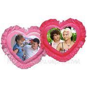 Фото на подушке «Сердце» в Донецке