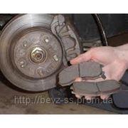 Замена передних тормозных колодок BMW