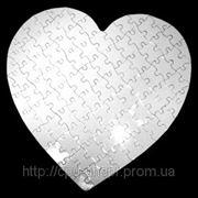 Пазл сердце А3 фото