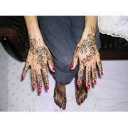Роспись тела хной, временные тату, бикини-дизайн фото
