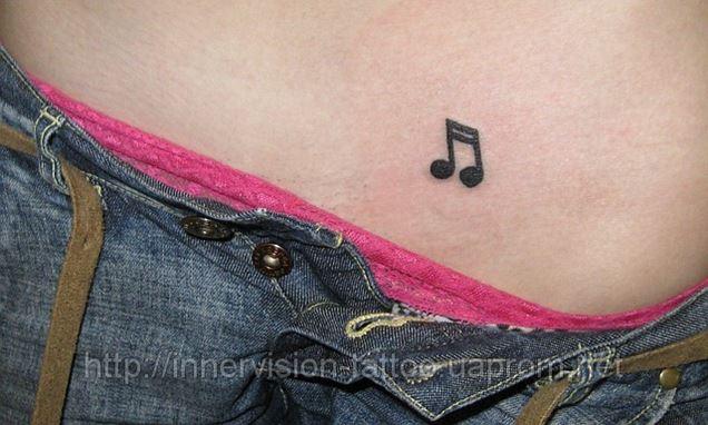 Татуировки в зоне бикини фото