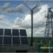 Ветер солнечная гибридная система для крестьянского хозяйства. фото