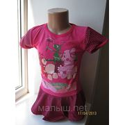 Туника -платье лунтик 100 % cotton фото