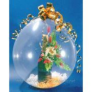 Упаковка подарка в воздушный шар фото