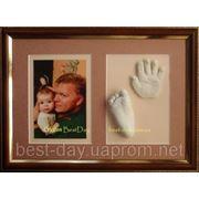 Подарок новорожденной девочке отпечаток 46