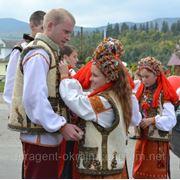 Гуцульская свадьба в Космаче