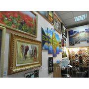 Оформление картин в рамы, фоторамы в г. Донецке фото
