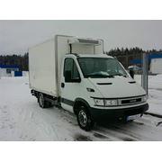 Транспортные услуги. Автомобиль IVEKO с холодильным оборудованием фото