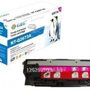 Тонер-картридж G&G пурпурный для HP Color LaserJet 3500/3500N/3550/3550N 4000стр фото