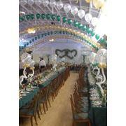 Оформление свадеб Организация оформления банкетов и фуршетов Свадебное оформление зала Оформление зала. фото