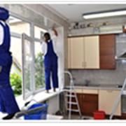 Уборка домов, коттеджей фото