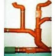 Монтаж канализации. фото