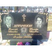 Оформление памятников на кладбище фото