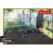Уход за могилами на кладбищах фото
