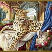 Раскраска по номерам Римский леопард фото