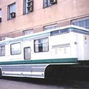 Полуприцеп-спальня для сидельных тягачей для длительного проживания рабочих бригад 99022 фото