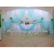 "Оформление свадеб. Цвет ""Тиффани"". фото"