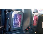 Реклама внутри маршрутных такси фото