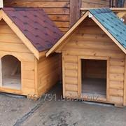 Деревянная будка фото