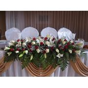 Оформление свадеб живыми цветами Алматы фото