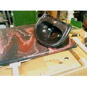 Изготовление изделий из литьевого камня и стеклопластика фото