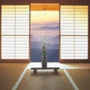Японские шторы фото