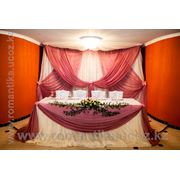 Oформление свадеб живыми цветами фото