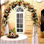 Оформление свадьбы цветами Оформление помещений живыми цветами в Астане фото