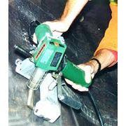 Термическая сварка геомемраны HDPE фото